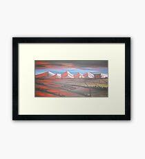 Canterbury Plains Framed Print