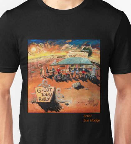 Ghost Town Rally - Silverton Outback NSW T-Shirt