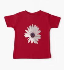 White Daisy Isolated On White Kids Clothes