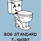 The bog standard T-shirt by Zozzy-zebra