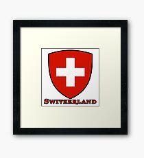 suisse switzerland Framed Print