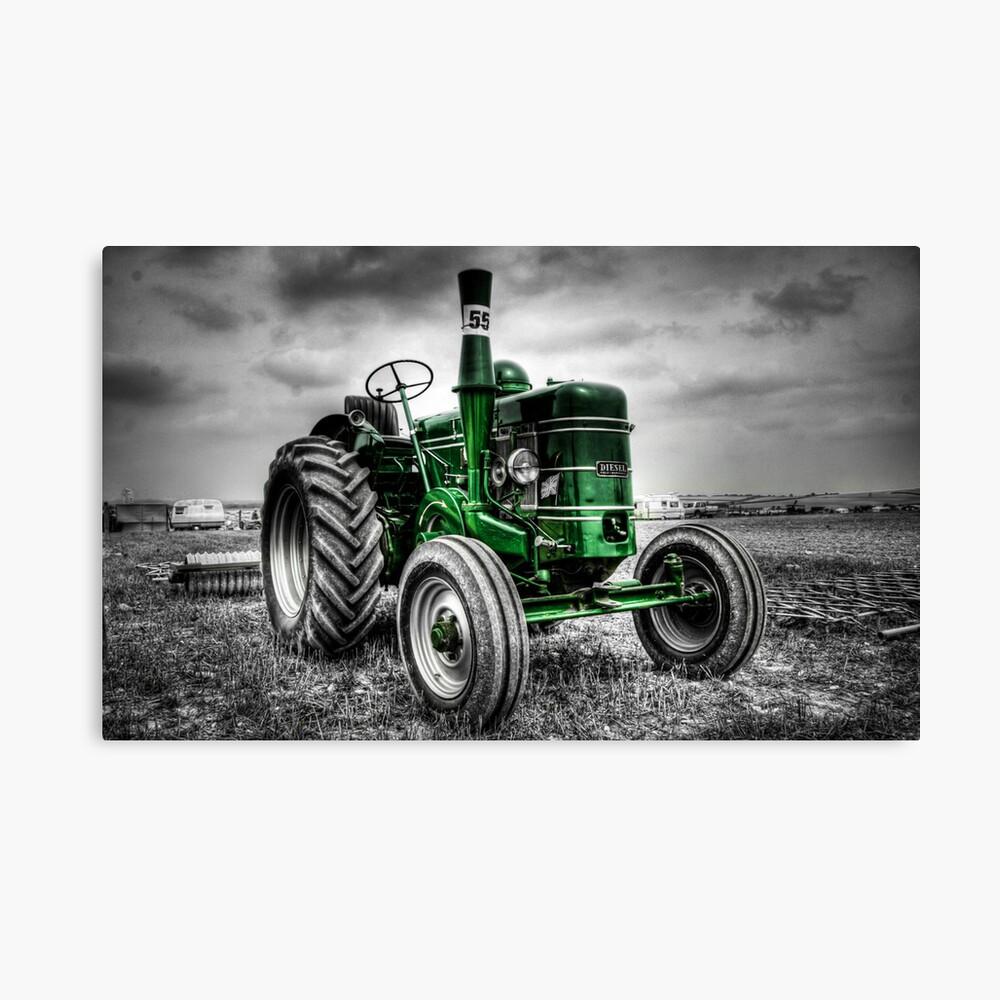 Tractor Green Leinwanddruck