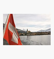 Lake Zug Photographic Print