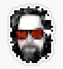 Minecraft Dude Big Lebowski Sticker