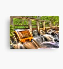 The honey water dam [HDR] Canvas Print
