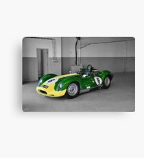 Lister Race Car Canvas Print