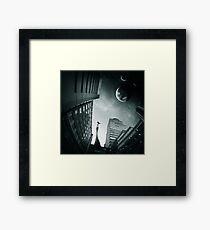 sci-fi 3 Framed Print