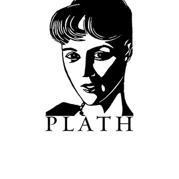 Sylvia Plath by bareknucklepoet