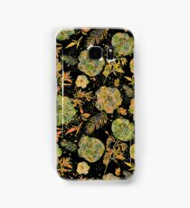 Pastel Tones Vintage Floral Design Samsung Galaxy Case/Skin