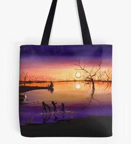 Menindee Sunset Tote Bag
