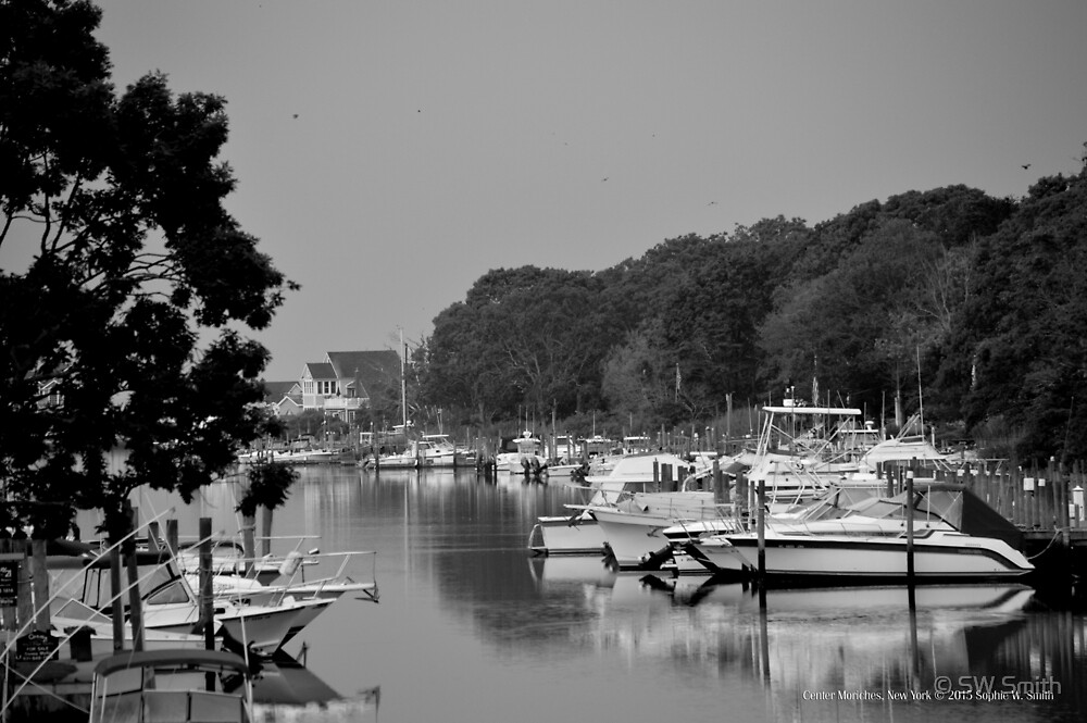 Areskonk Creek View | Center Moriches, New York by © Sophie W. Smith
