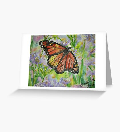 Beautiful Transition Greeting Card