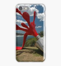 Red Paint Tube @ Sculptures By The Sea iPhone Case/Skin