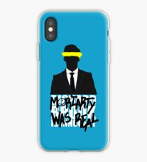 Moriarty Was Real iPhone Case