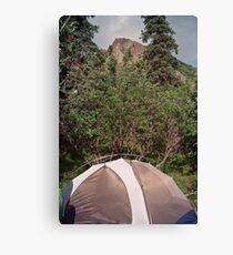 igloo camp Canvas Print