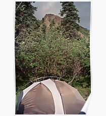 igloo camp Poster