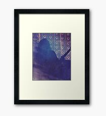David Ellefson - Manchester 2015 Framed Print