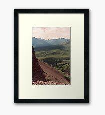 Igloo Path Framed Print