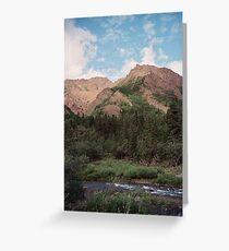 Igloo Mountain Greeting Card