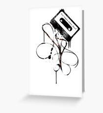 Mixtapes Aren't Dead... Greeting Card