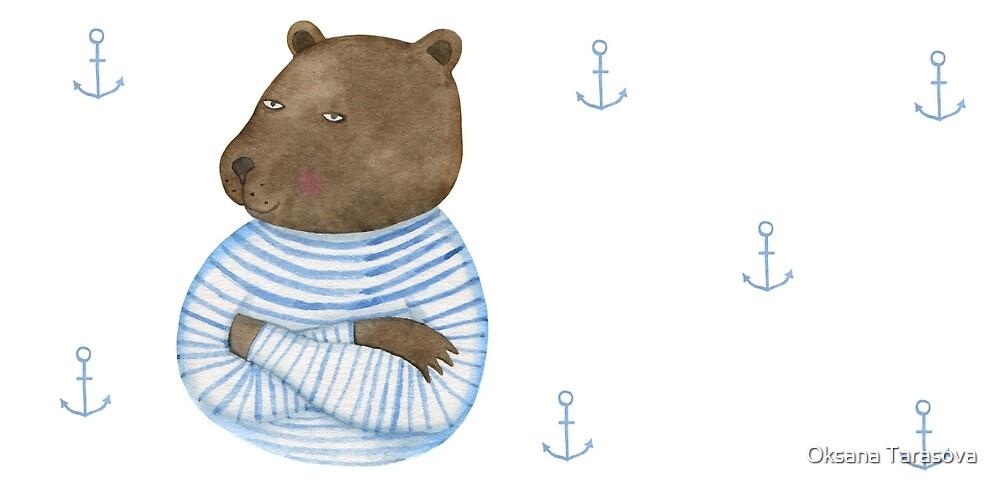 Bear seaman by Oksana Tarasova