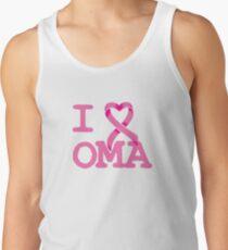 I Heart OMA - Breast Cancer Awareness Tank Top