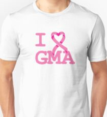 I Heart GMA - Breast Cancer Awareness Unisex T-Shirt