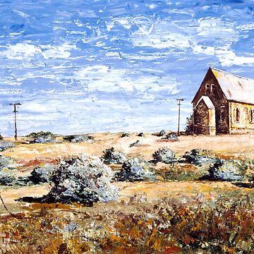 St Carthage: Silverton Outback Australia by Ochresands
