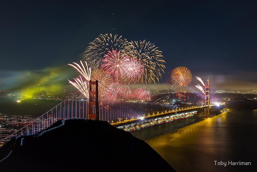 Golden Gate Bridge 75th Anniversary by Toby Harriman