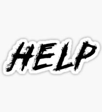 Help Sticker