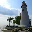Beautiful Ohio - Marblehead Lighthouse by lindybird