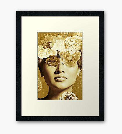 Golden Ipenema Framed Print