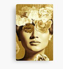 Golden Ipenema Canvas Print