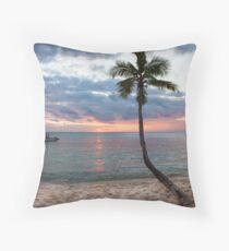 Tokoriki Sunset Throw Pillow