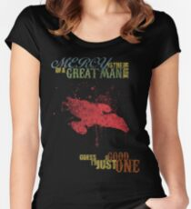 The Mark of a Great Man Women's Fitted Scoop T-Shirt