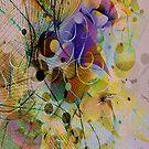 Original Digital Abstract Modern Art by artonwear