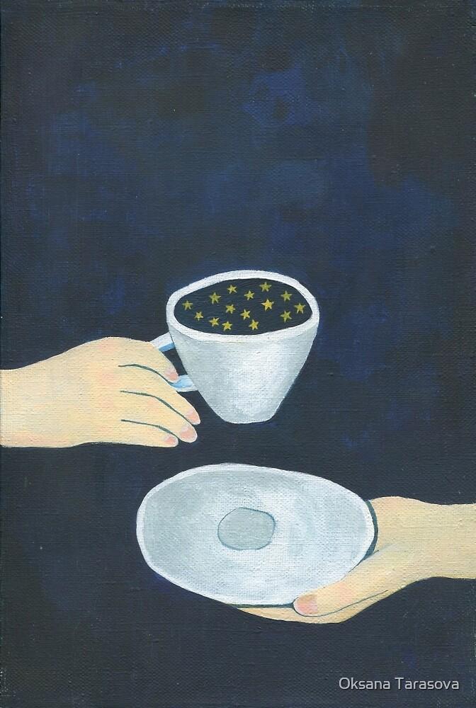 Star coffee by Oksana Tarasova