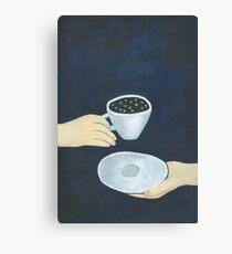 Star coffee Canvas Print