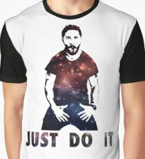 Just Do It Shia Labeouf Galaxy Graphic T-Shirt