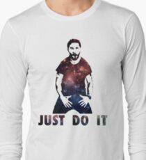 Camiseta de manga larga Just Do It Shia Labeouf Galaxy
