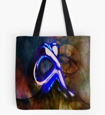The Art Of Melancholic Dependence... Repetitive Dullness Tote Bag