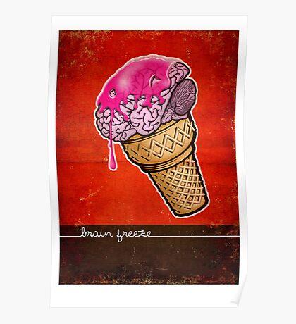 Brain Freeze! Poster