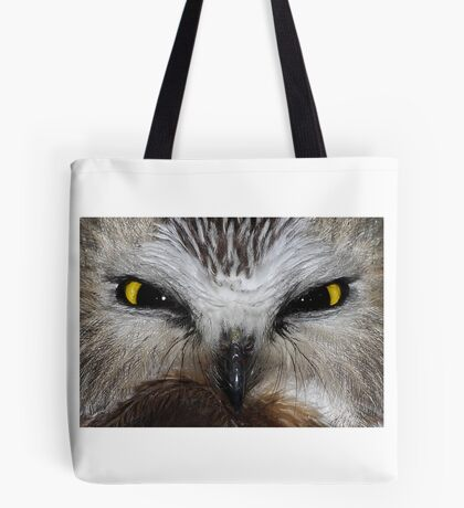 Saw-whet Owl...Saw-eeet! Tote Bag