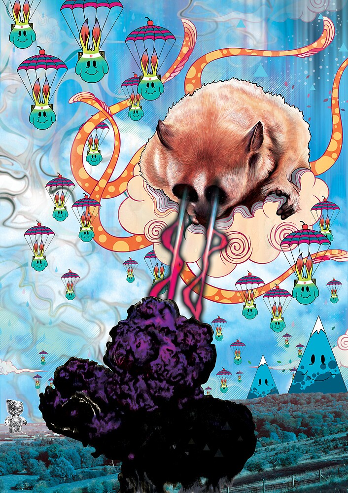 Attack of the Super Furry Animals by MatMiller