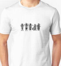 Entoptic shamanic figures Unisex T-Shirt