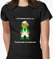 Team Luigi Women's Fitted T-Shirt