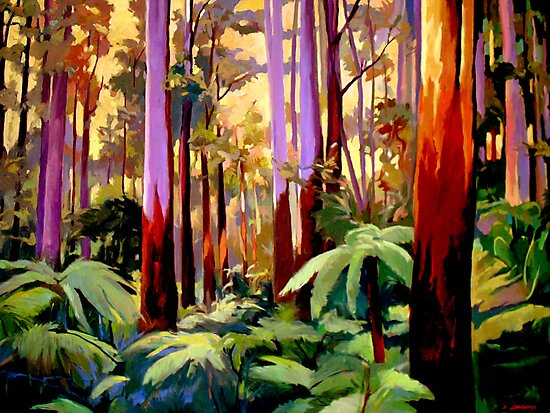 Sherbrooke Forest by Guntis Jansons