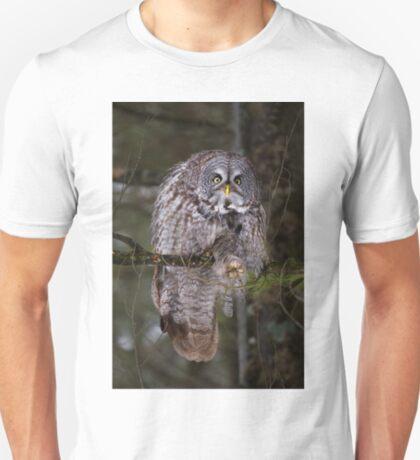 Silence! I keel you! - Great Grey owl T-Shirt