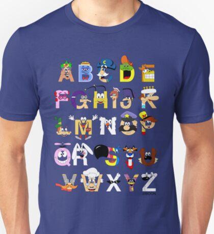 Breakfast Mascot Alphabet T-Shirt
