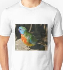 Red Scarlet Chested Parrot  Unisex T-Shirt
